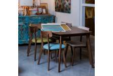 Table 180 cm moderne marron