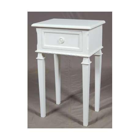 Deux tables de chevet sym triques bois bouleau pictures to for Table de chevet acajou