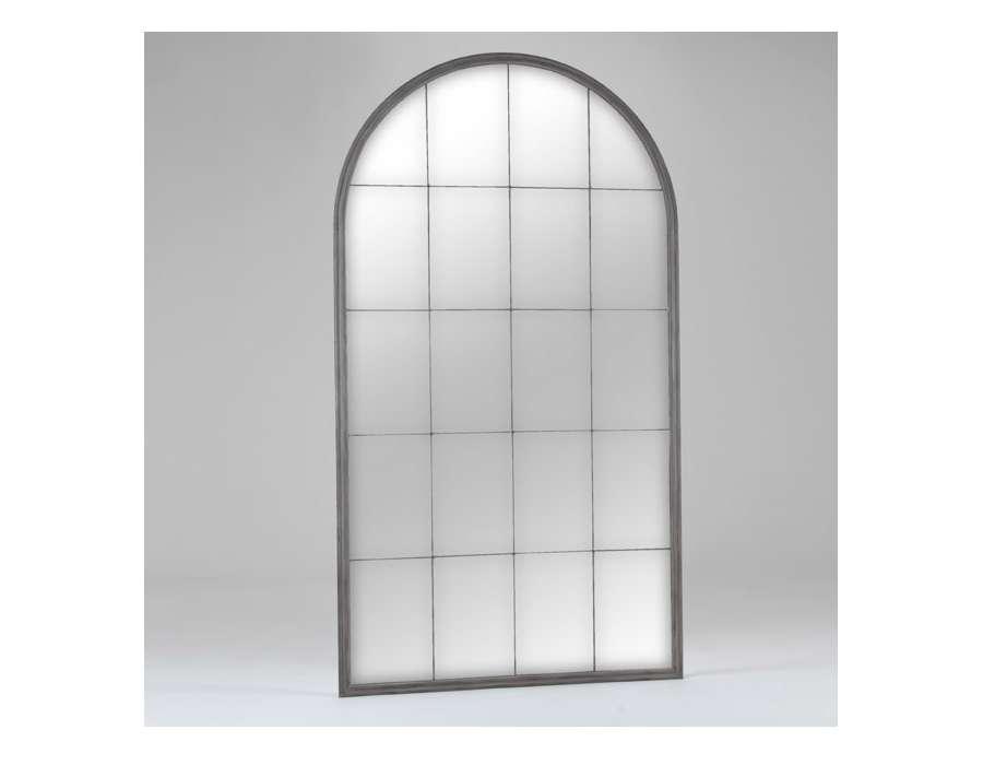 Miroir avec armatures en fer de la marque amadeus for Grand miroir metal