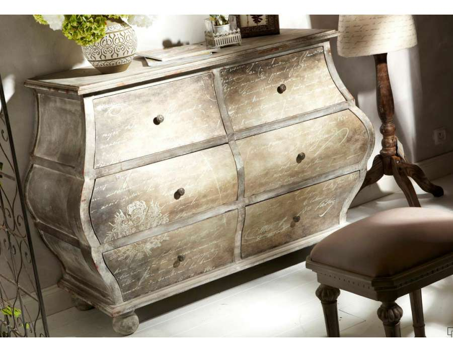 commode romantique amadeus. Black Bedroom Furniture Sets. Home Design Ideas