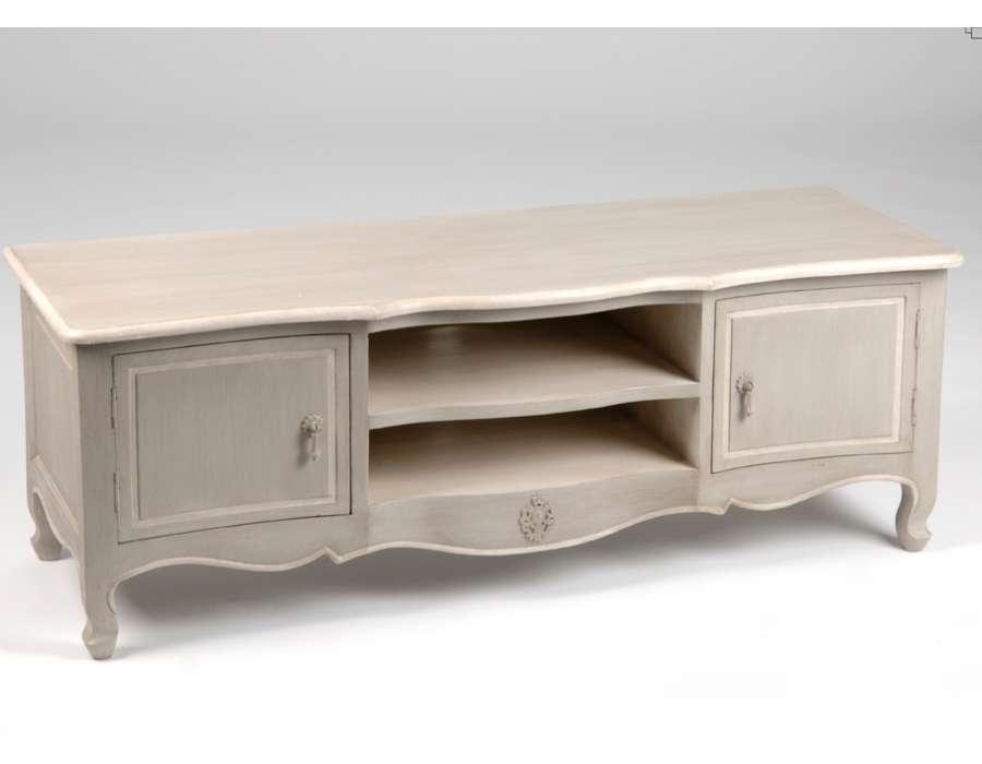 Table rabattable cuisine paris meuble tv style baroque for Meuble tv baroque pas cher