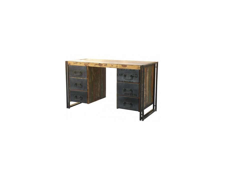 Le grenier de juliette amadeus meubles et d coration - Bureau industriel bois et metal ...