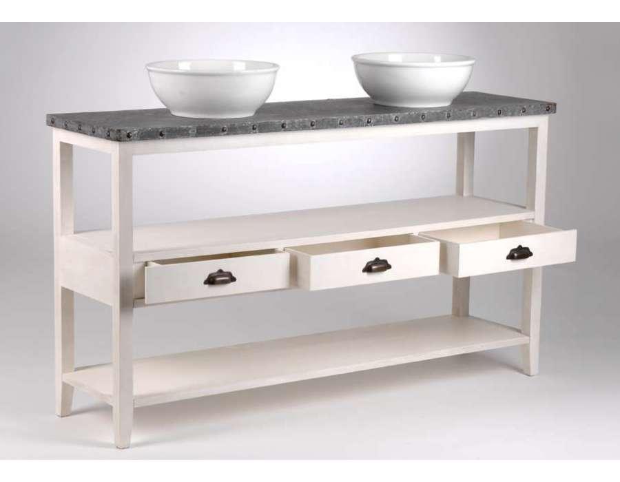 Le grenier de juliette amadeus meubles et d coration for Console de salle de bain