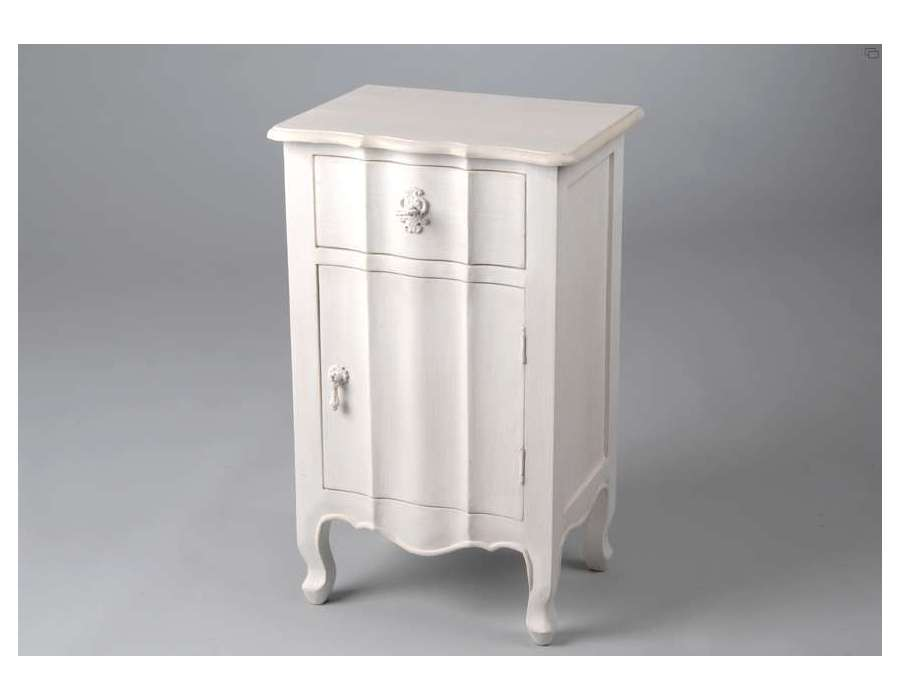 Blanches guide d 39 achat for Table chevet transparente