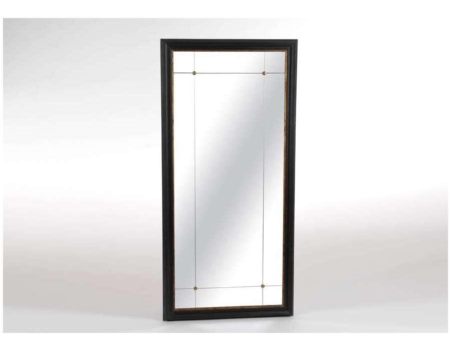 Amadeus miroir rectangulaire demeure en m tal 80 x 180 cm for Miroir wallpaper