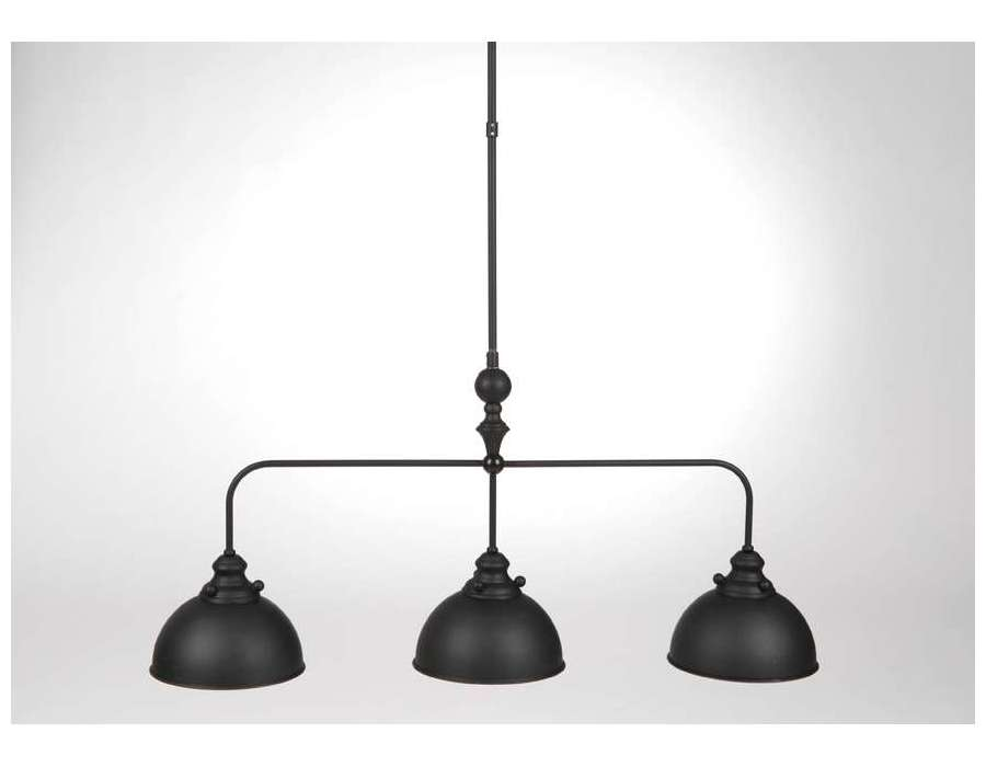 suspension industrielle m tal noir. Black Bedroom Furniture Sets. Home Design Ideas