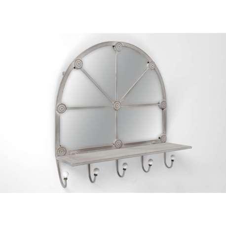 Miroir baroque et romantique miroir amadeus meubles for Miroir patere entree