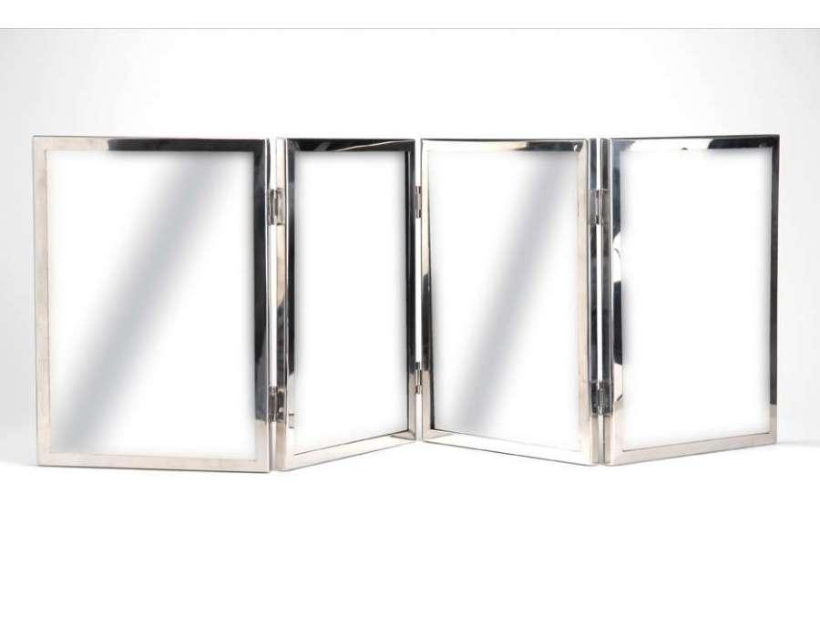Miroir poser 4 volets amadeus for Miroir 3 volets