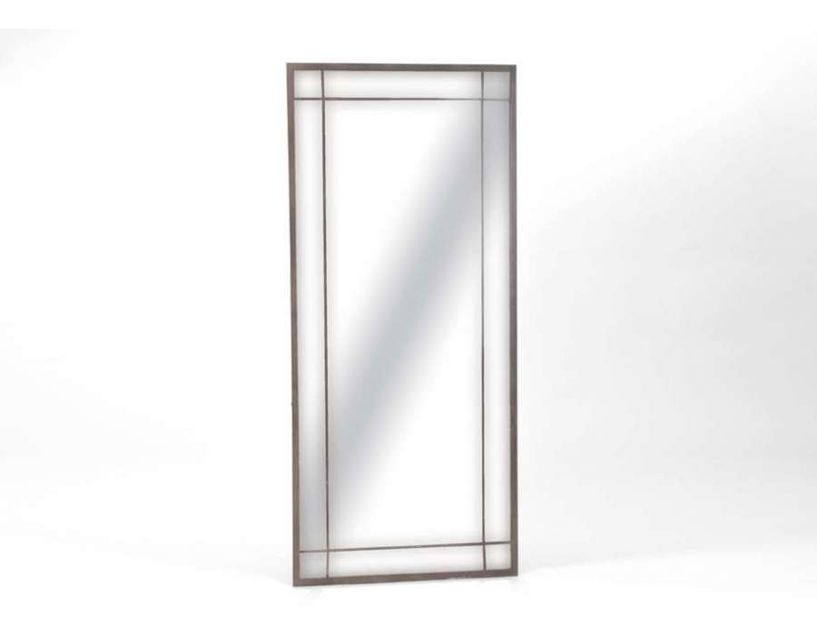 Grand miroir 180 cm amadeus for Grand miroir rectangulaire