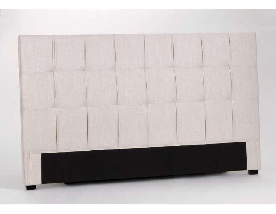 T te de lit amadeus ou bout de lit amadeus meubles de chambre amadeus mobilie - Tete de lit en lin 160 ...
