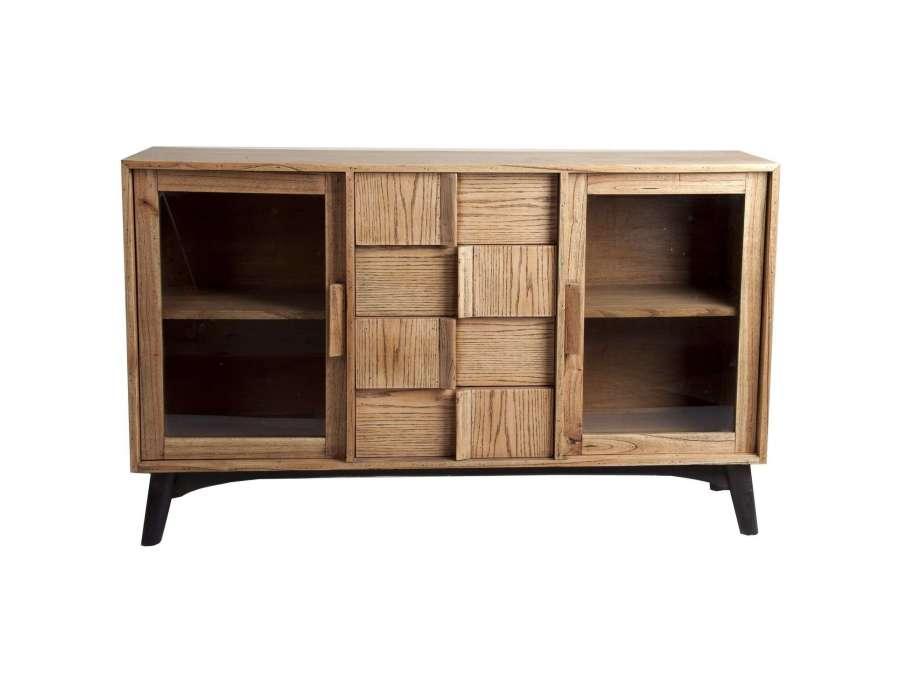 buffet en bois vintage vical home. Black Bedroom Furniture Sets. Home Design Ideas