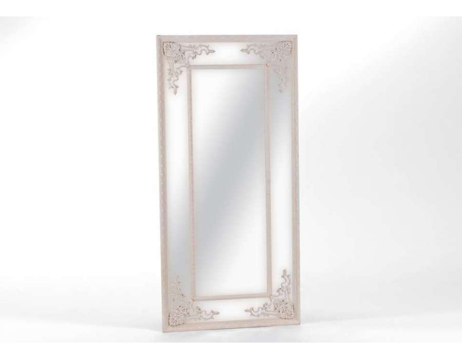 Miroir baroque et romantique miroir amadeus meubles for Miroir baroque rectangulaire