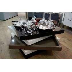 Table salon rectangulaire laquée Amadeus