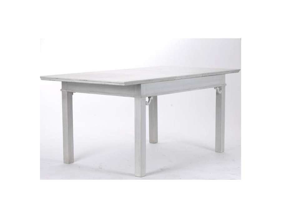 Table salle manger grise 170 cm for Table salle a manger grise