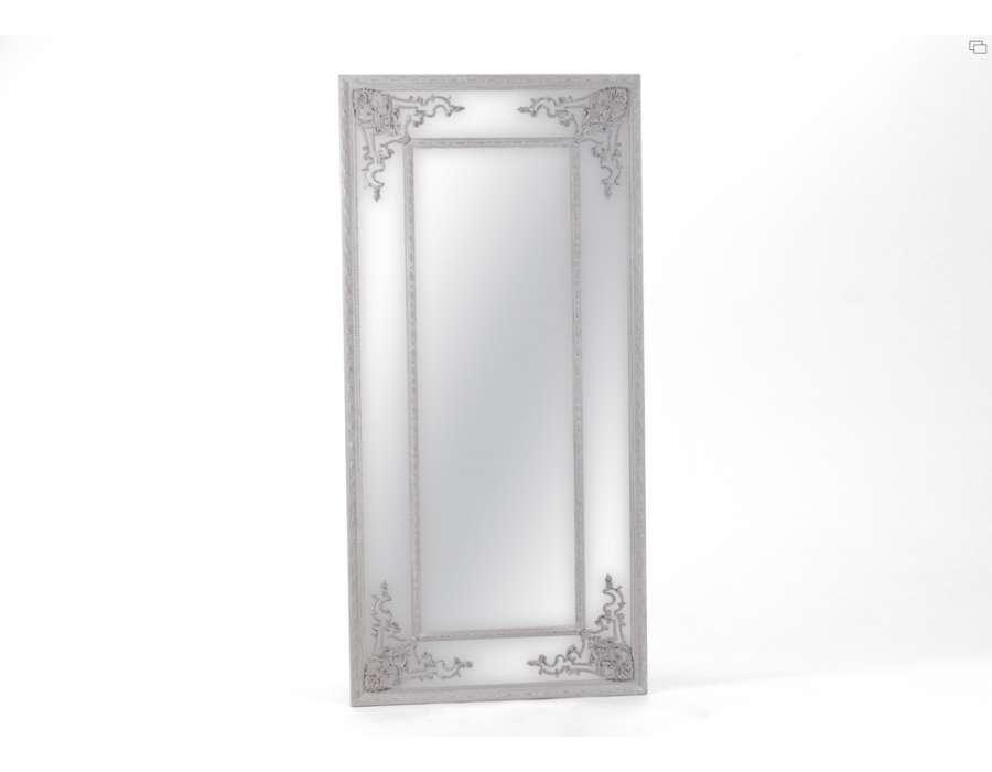 Cat gorie miroir page 12 du guide et comparateur d 39 achat for Miroir baroque gris