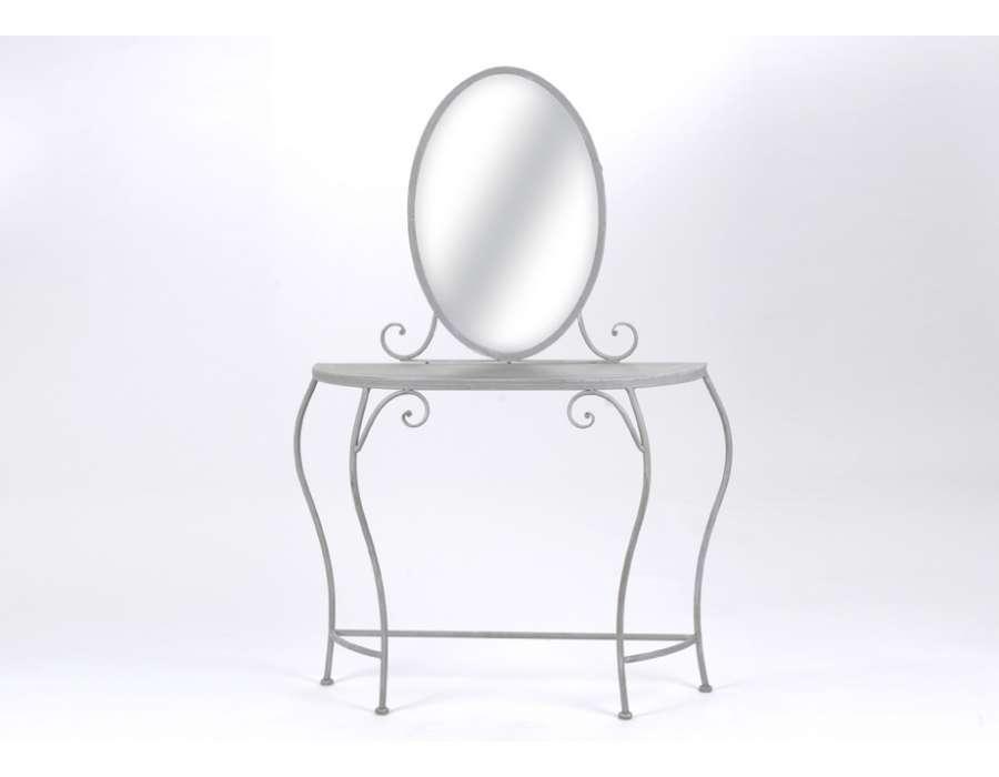 coiffeuse amadeus grise. Black Bedroom Furniture Sets. Home Design Ideas