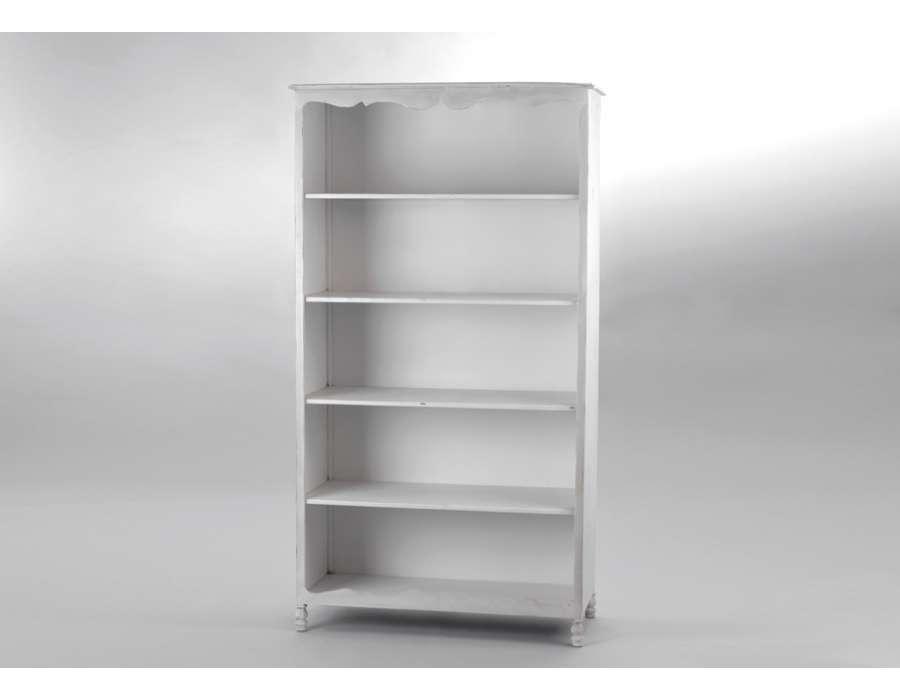 grande tag re m tal blanc amadeus. Black Bedroom Furniture Sets. Home Design Ideas