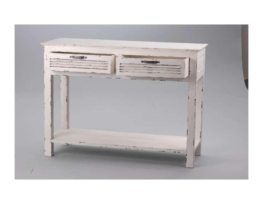 Console amadeus meuble de charme meubles amadeus et d coration amadeus - Meuble console blanche ...