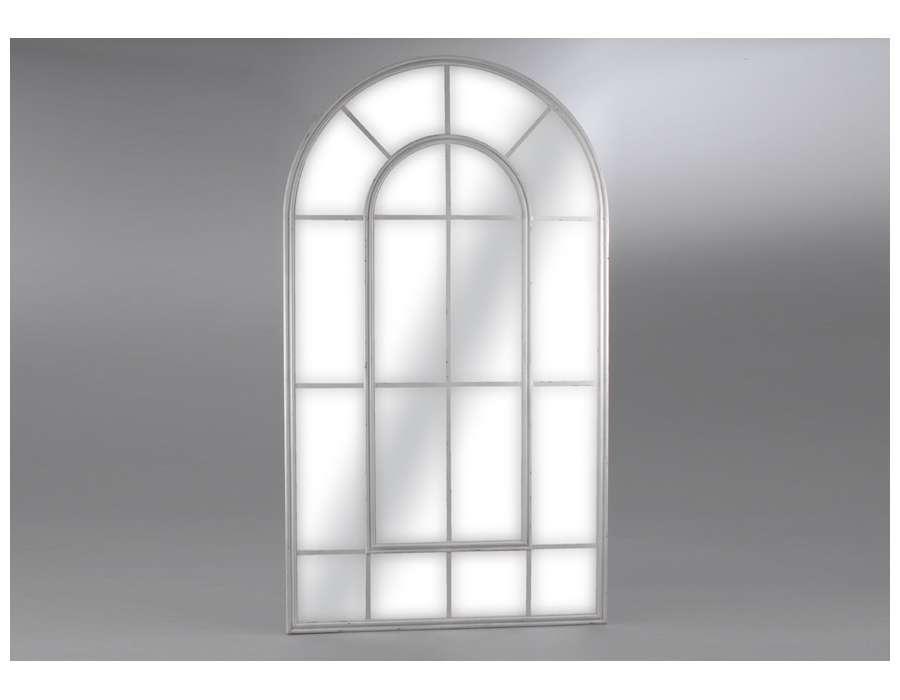 Miroir quadrill amadeus gris 215 for Miroir quadrille kine