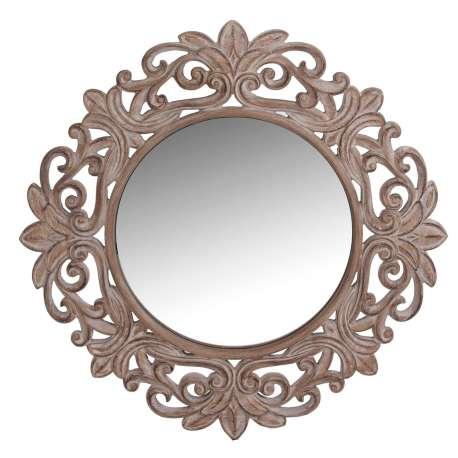 Le grenier de juliette amadeus meubles et d coration for Grand miroir rond bois