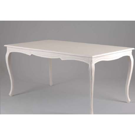 Table a manger blanche solutions pour la d coration for Table blanche