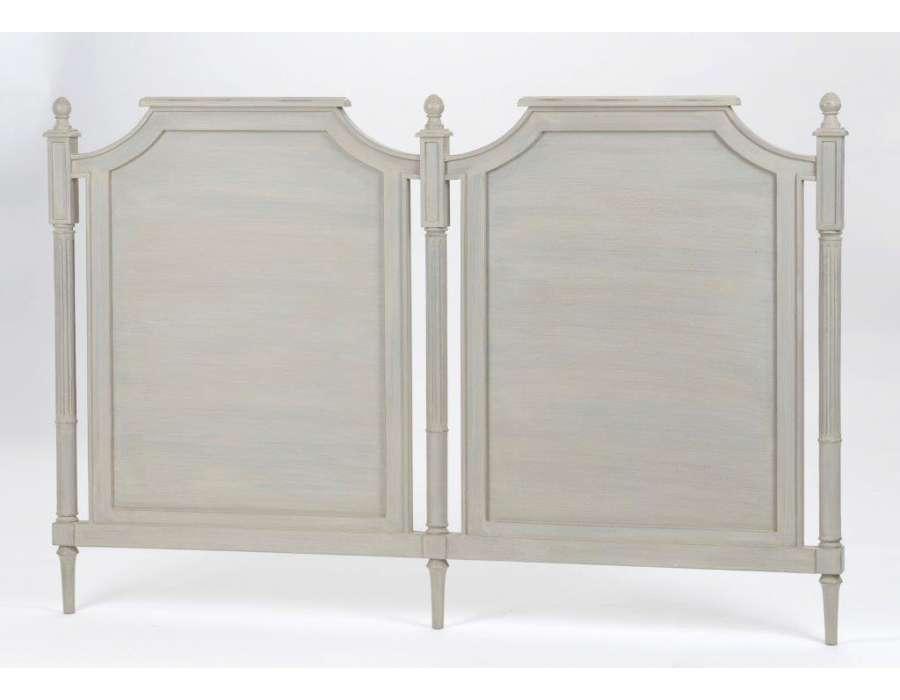 Tête de lit cérusée 160 cm Louis XVI ~ Tete De Lit Bois Ceruse
