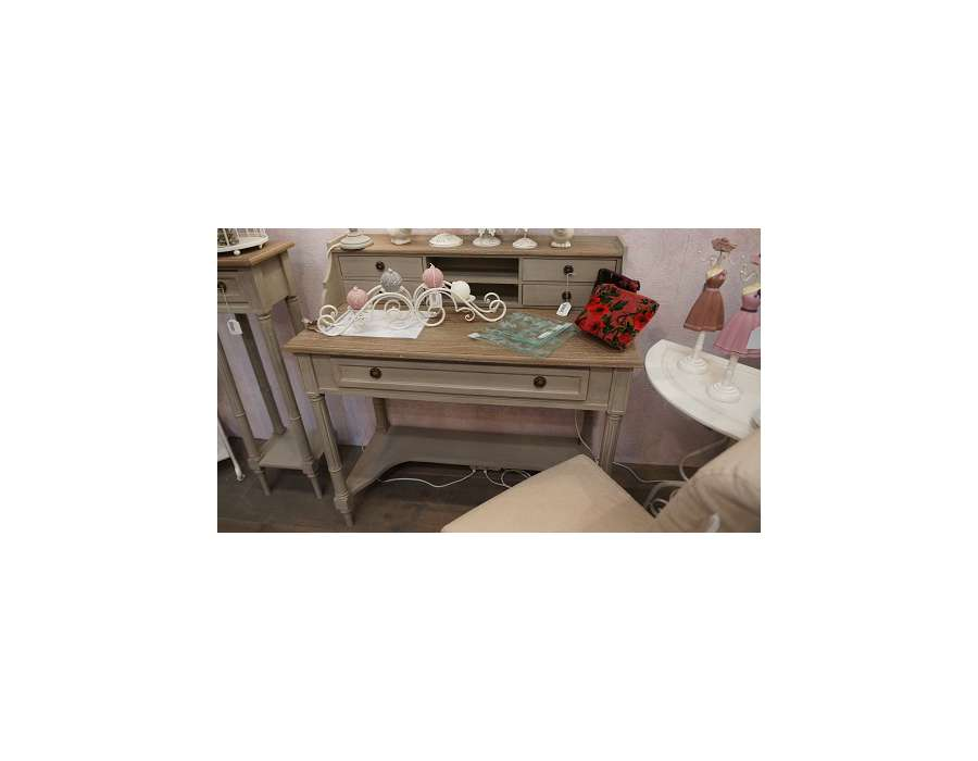 bureau secr taire c rus lin meuble amadeus. Black Bedroom Furniture Sets. Home Design Ideas