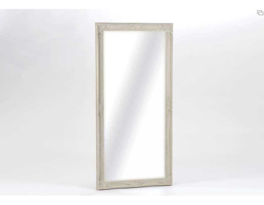 Livraison offerte possibilit de payer en trois fois sans for Grand miroir gris