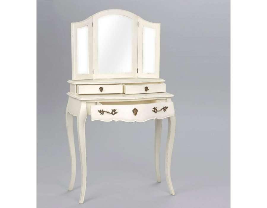 Coiffeuse amadeus gamme murano meuble de charme amadeus for Meuble romantique