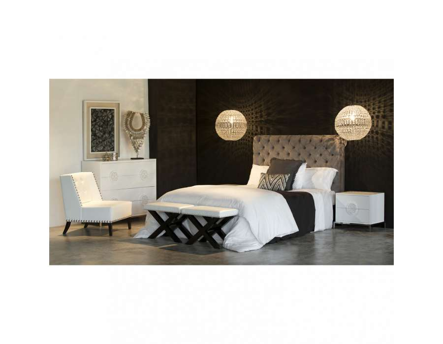 table rabattable cuisine paris tete de lit velours capitonnee. Black Bedroom Furniture Sets. Home Design Ideas