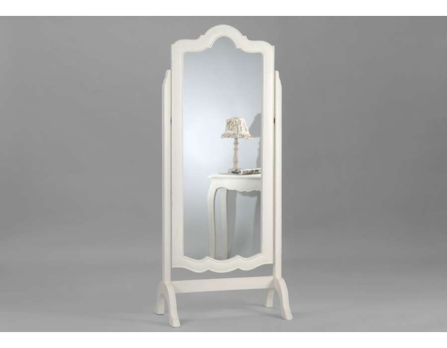 miroir psych baroque blanc de la marque amadeu. Black Bedroom Furniture Sets. Home Design Ideas