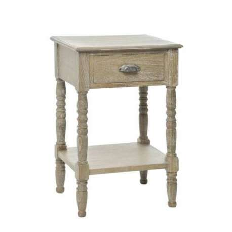 table de chevet bois c rus ch ne clair. Black Bedroom Furniture Sets. Home Design Ideas