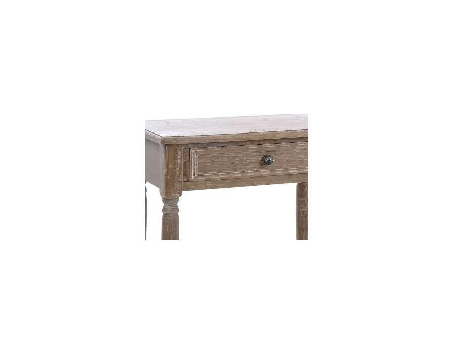 Table bois c rus sammlung von design - Table de nuit rustique ...