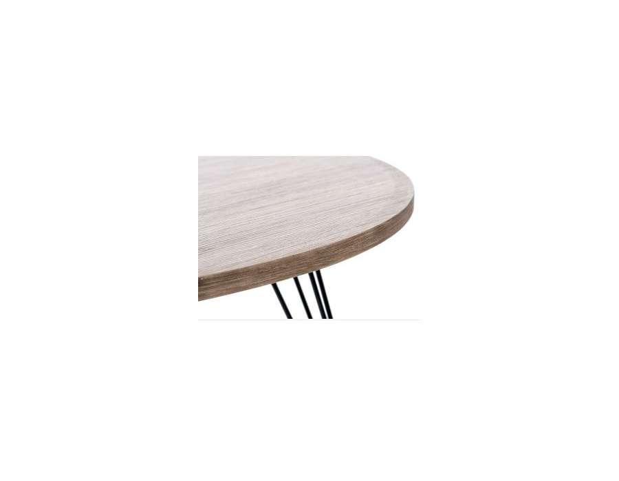 table salon retro design pas chere. Black Bedroom Furniture Sets. Home Design Ideas