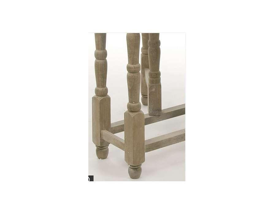 Table bois pliable ronde