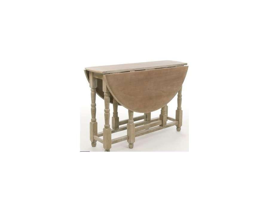 table bois pliable ronde pas chere. Black Bedroom Furniture Sets. Home Design Ideas