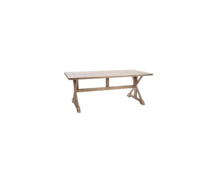 Table Bois 2 M Pour 10 Personnes Pas Ch Re