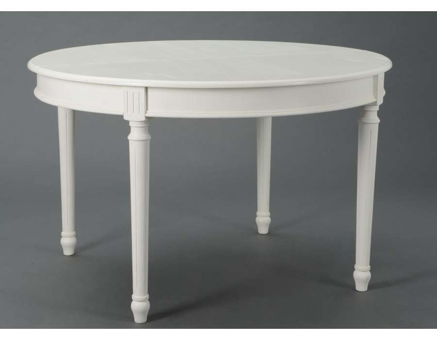 Table ronde laquee blanche 28 images table ronde laqu for Table ronde laquee blanc extensible