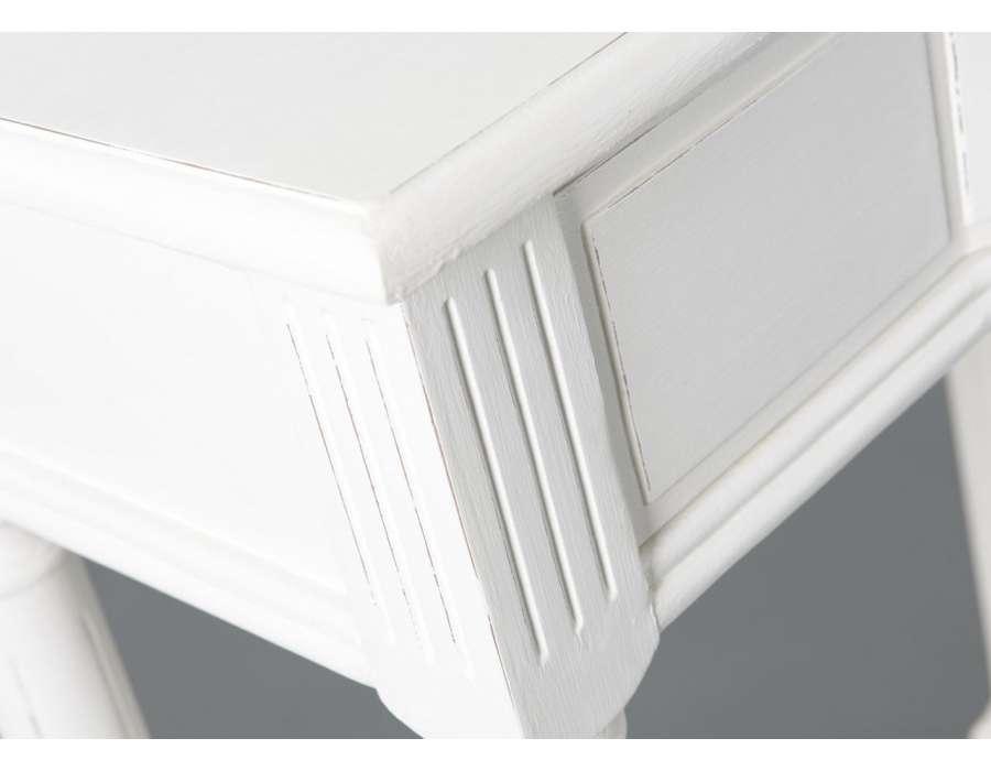 Table drapier blanche Agathe