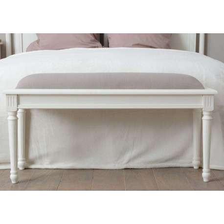 bout de lit bois blanche pas cher. Black Bedroom Furniture Sets. Home Design Ideas