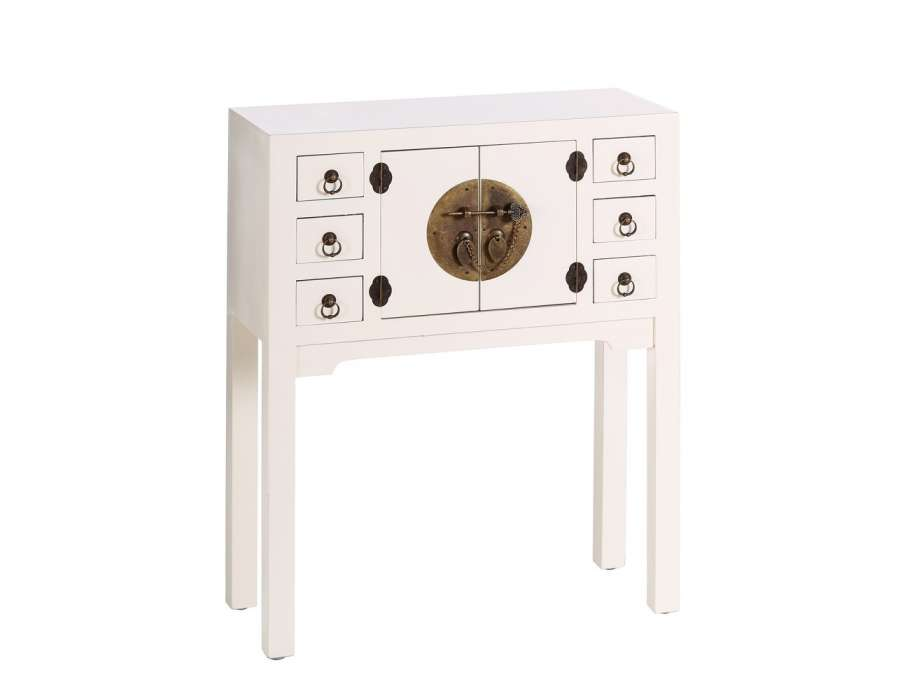 stunning petite console duentre chinoise blanche with console petite largeur. Black Bedroom Furniture Sets. Home Design Ideas