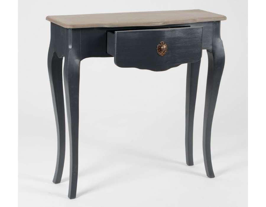 console baroque grise l gante pas chere. Black Bedroom Furniture Sets. Home Design Ideas