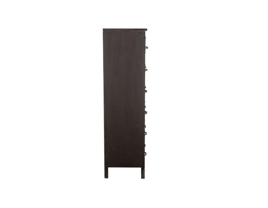meuble casiers en m tal de type industriel mobilier indus. Black Bedroom Furniture Sets. Home Design Ideas
