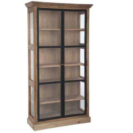 armoire vitr e 2 portes c rus armoire vitr e pas cher jolipa. Black Bedroom Furniture Sets. Home Design Ideas