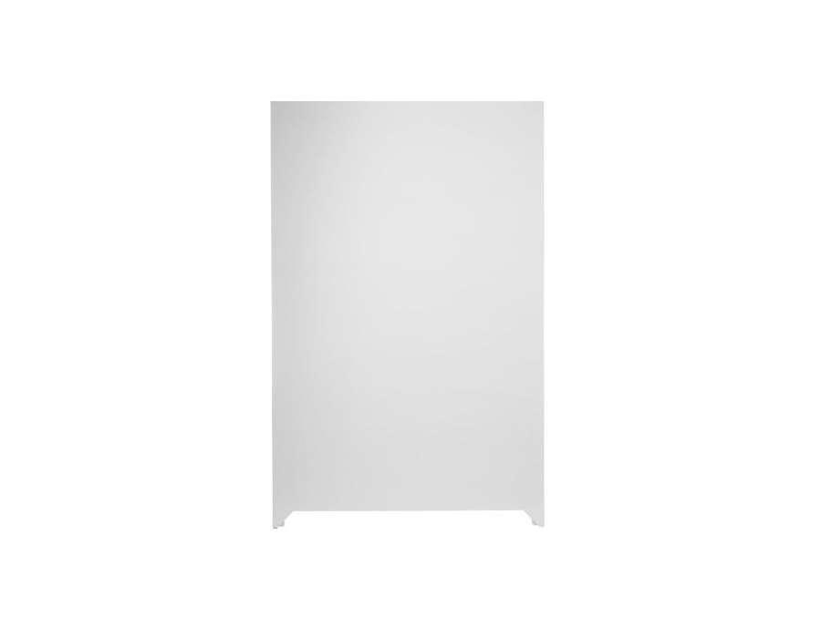 Grande armoire blanche de chambre avec penderie - Grande armoire blanche ...