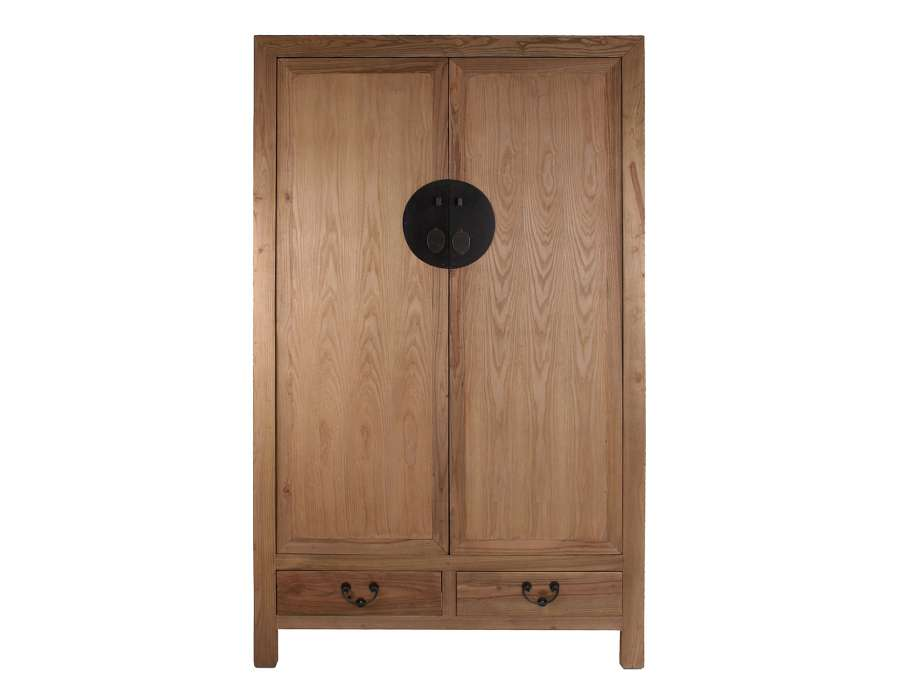 Armoire bois chinoise 2 portes gm