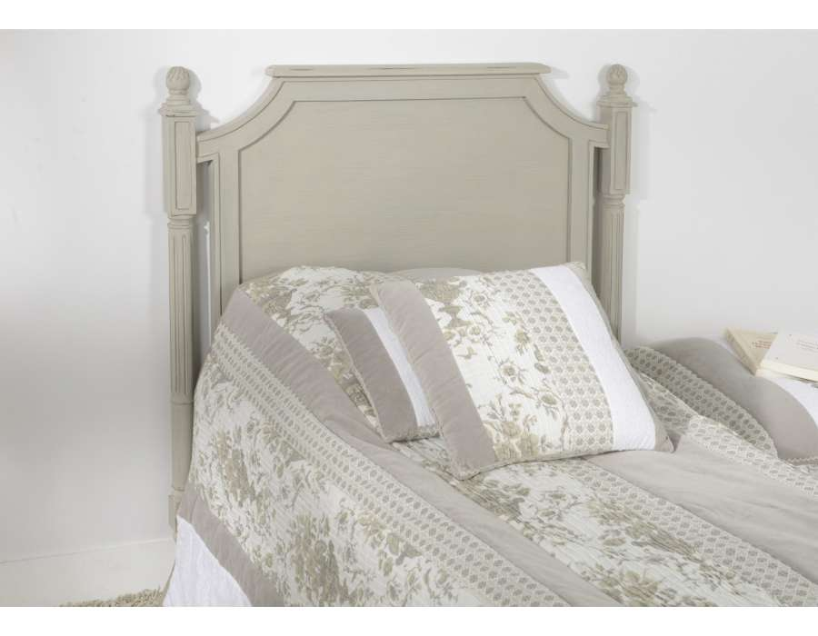 Tête de lit cérusée 90 cm Louis X
