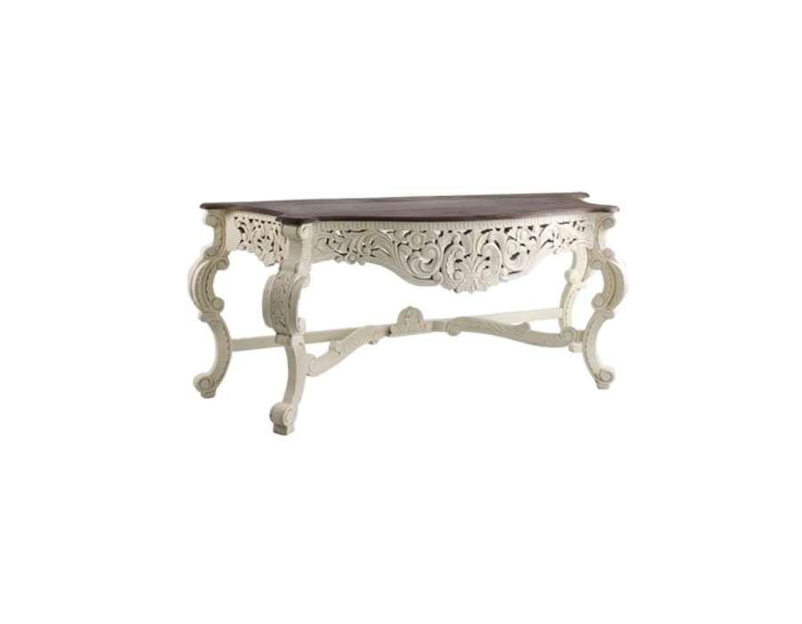 console baroque a peindre. Black Bedroom Furniture Sets. Home Design Ideas