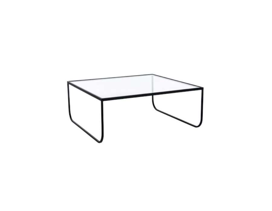 Table basse en verre pour le salon table carr e - Verre pour table ...