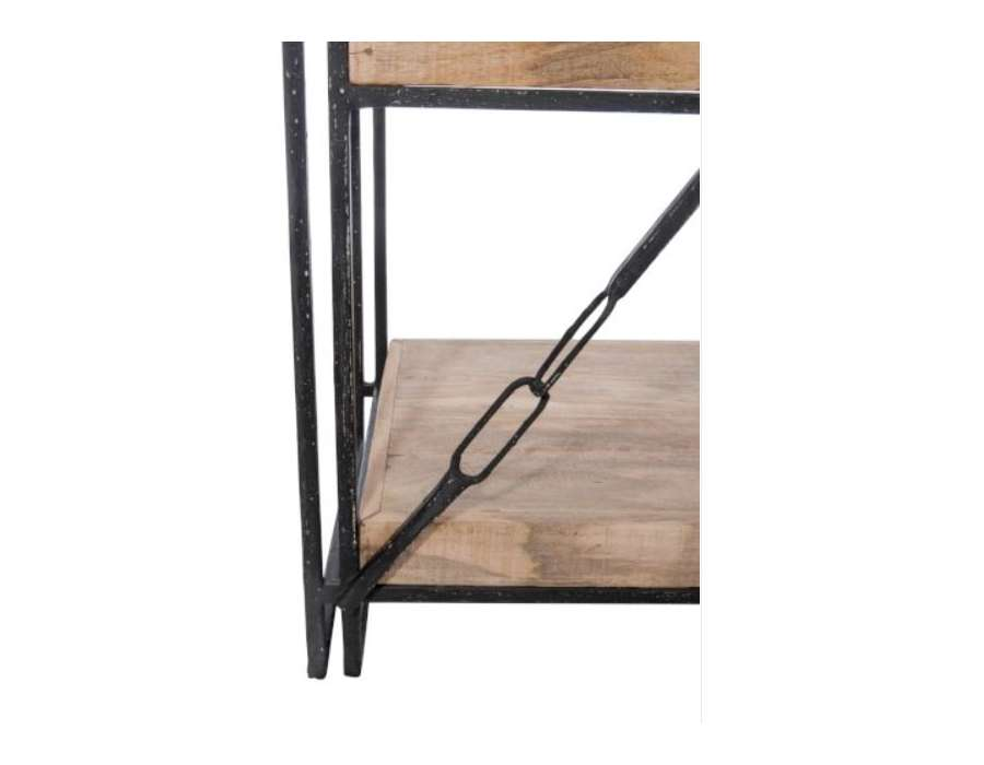 Etagère industrielle métal bois Jolipa
